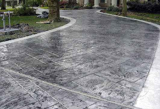 Decorative Paving Company : Rockford decorative concrete stamped imprinted