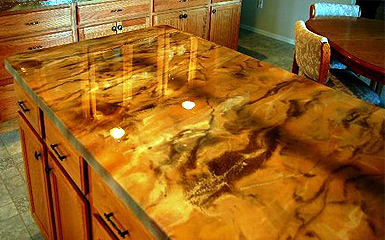 Epoxy Counter Tops Are Made Up Of Two Different And Separate Components An Epoxy  Resin And