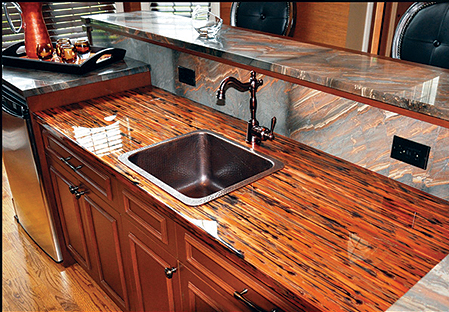 New Countertop Installation Rockford Custom Counters
