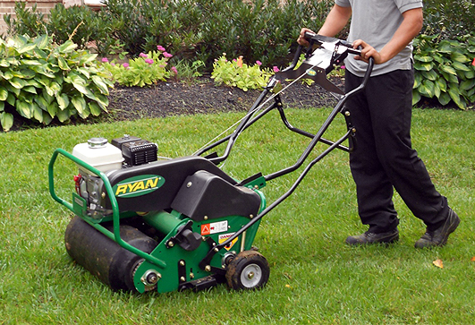 Rockford Lawn Core Aeration Contractor